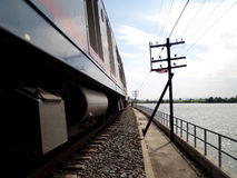 Treno 04 Fotografia Stock Libera da Diritti