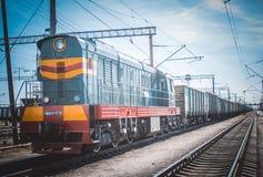 Treno Immagine Stock