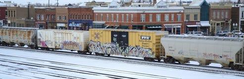 Treno Fotografia Stock Libera da Diritti