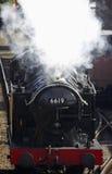 Treno 6619 del vapore Fotografie Stock Libere da Diritti