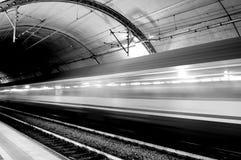 Treno fotografia stock