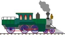 treno, illustrazione di stock