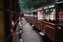 Treno abbandonato Immagini Stock