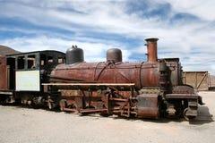 Treno abbandonato, Pulacayo, Bolivia Fotografie Stock