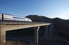 Treno ad alta velocità Immagini Stock Libere da Diritti