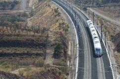 Treno ad alta velocità Fotografia Stock