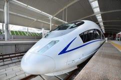 Treno ad alta velocità Immagine Stock