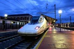 Treno ad alta velocità Fotografie Stock