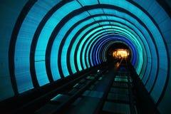 Treno ad alta velocità del sottopassaggio Immagine Stock