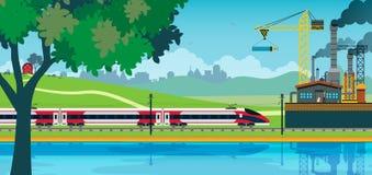 Treno ad alta velocità della Cina illustrazione vettoriale