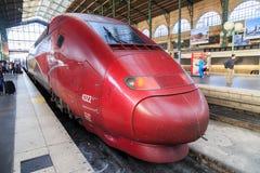 Treno ad alta velocità della Cina Fotografie Stock