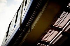 Treno ad alta velocità della monorotaia. Immagini Stock Libere da Diritti