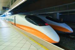 Treno ad alta velocità di Taiwan Immagine Stock Libera da Diritti