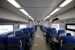 Treno ad alta velocità moderno Fotografie Stock Libere da Diritti
