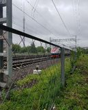 Treno ad alta velocità Sapsan Immagine Stock Libera da Diritti