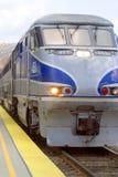 Treno alla stazione Immagine Stock