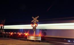 Treno alla stazione di Westona Immagini Stock Libere da Diritti