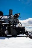 Treno antico Rio Grande immagini stock libere da diritti
