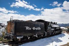 Treno antico Rio Grande fotografia stock libera da diritti