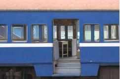 Treno Carrriage dell'annata fotografie stock