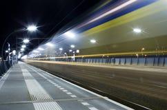 Treno con velocità Immagine Stock Libera da Diritti