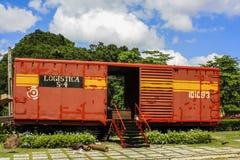 Treno corazzato in Cuba Immagine Stock Libera da Diritti
