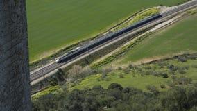 Treno a Cordova Fotografie Stock