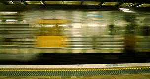 Treno d'accelerazione Immagine Stock Libera da Diritti