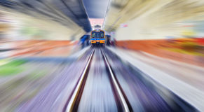 Treno d'annata Fotografia Stock