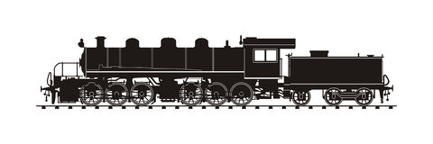 Treno d'annata illustrazione vettoriale