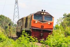 Treno d'annata immagine stock