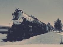 Treno d'annata classico Immagine Stock