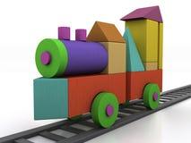 Treno dei bambini Immagini Stock