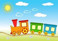Treno del bambino. royalty illustrazione gratis
