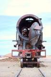 Treno del Barebones Immagine Stock