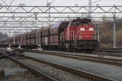 Treno del carbone Immagine Stock