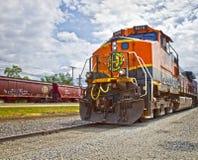 treno del carico di Santa Fe fotografia stock libera da diritti