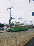 Treno del carrello a San Francisco immagini stock libere da diritti