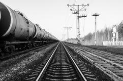 Treno del carro armato Fotografie Stock Libere da Diritti
