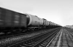 Treno del carro armato Fotografia Stock