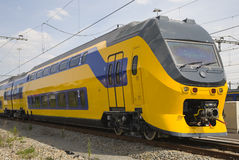 Treno del Dutch Immagini Stock