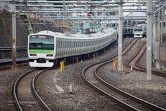 Treno del Giappone fotografia stock libera da diritti