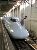 Treno del giapponese Fotografia Stock