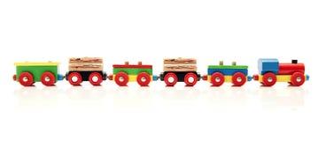 Treno del giocattolo Fotografia Stock Libera da Diritti