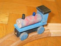 Treno del giocattolo Fotografie Stock Libere da Diritti