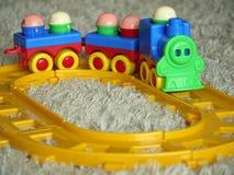 Treno del giocattolo Immagine Stock