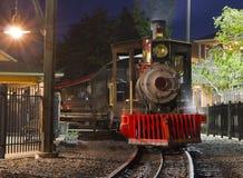 Treno del vapore Fotografie Stock