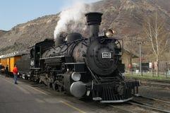 Treno del vapore Fotografia Stock Libera da Diritti