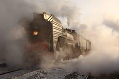 Treno del vapore Immagine Stock Libera da Diritti