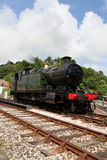 Treno del vapore del Devon Fotografie Stock